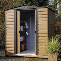 Woodvale 6x5 Metal Shed