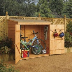 Charmant Bike Storage Shed