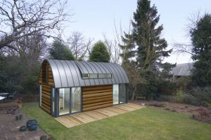 Holiday homes barn design garden buildings modern cost for Cost effective building design