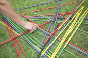 Giant Pick Up Sticks Game, Garden Game, Garden Toy