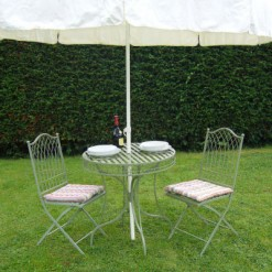 Country style bistro set