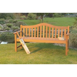 Lifestyle hardwood bench
