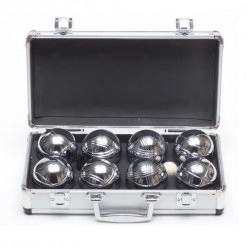 Outdoor Boules Game in a Metal Box