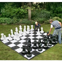 Outdoor Giant Plastic Chess Pieces