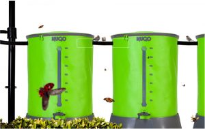 Multiple HUGO Water Butt 200L - Daisy Chained