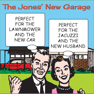 jones' new garage