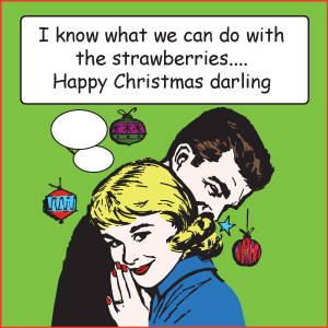 I know what we can do with the strawberies
