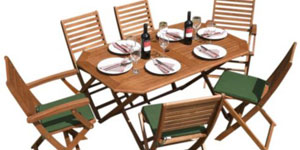 Garden Furniture 6 Chair Sets
