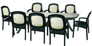 Garden Furniture 8 Chair Sets