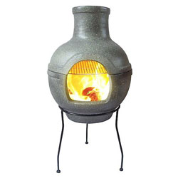 Firepits and Chimineas with Grills