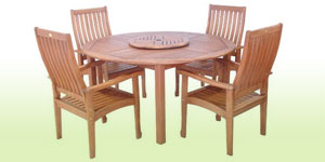 Garden Furniture 4 Chair Sets