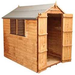 Garden Sheds Wooden Metal and Vinyl Outdoor Storage 5