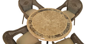Mosaic and Marble Furniture Sets