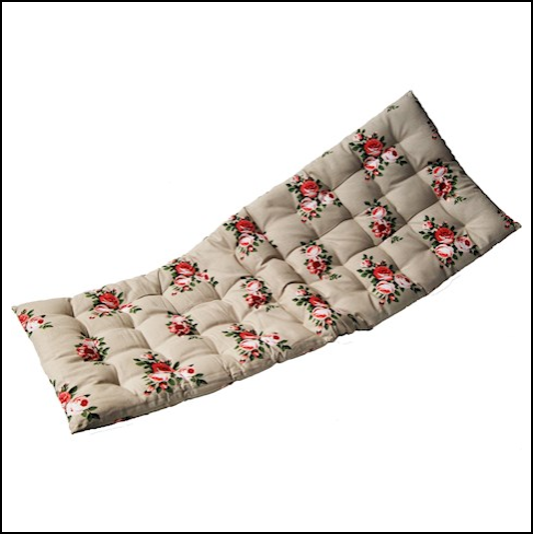 Stone Floral Bench Cushion