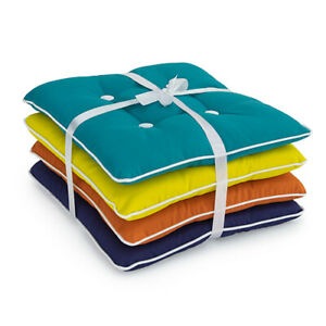 Pack of 4 Colourful Cushions