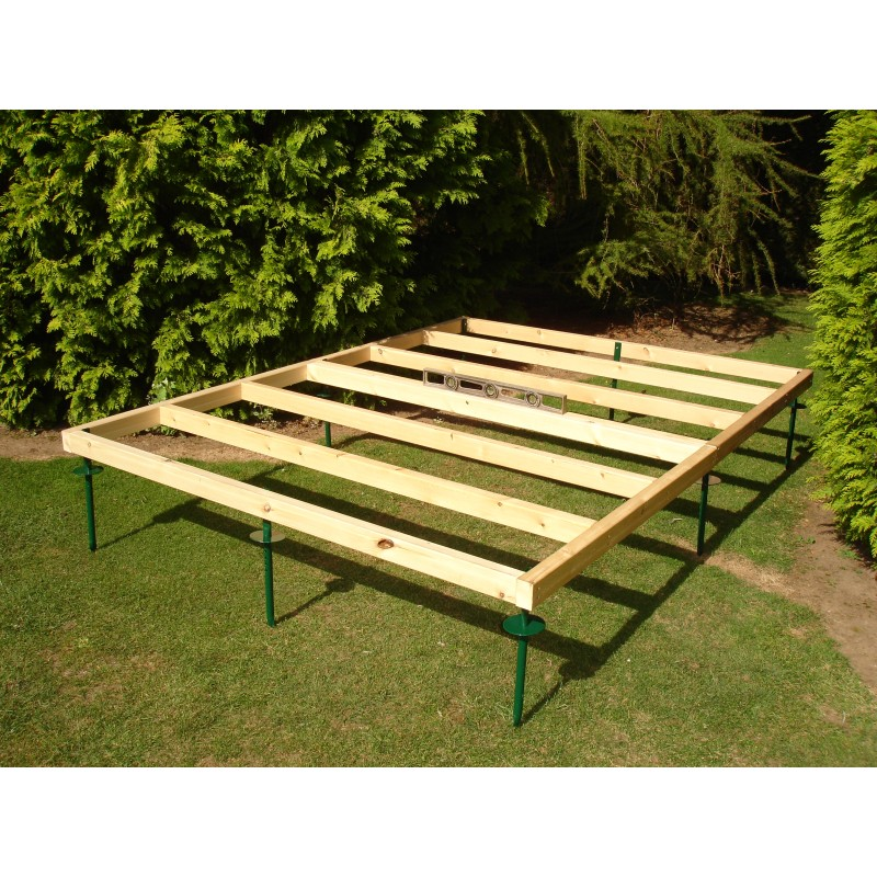 Adjustable Pressure Treated Timber Base 7x7
