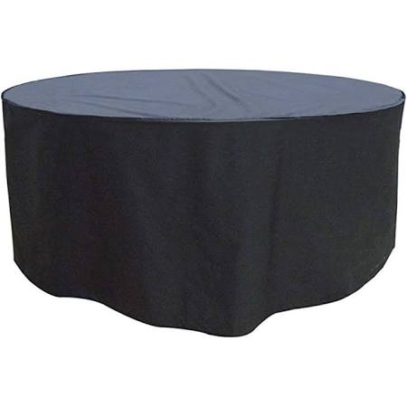 Heavy Duty Round Polyester Cover for 4 Seater Round Dining Set