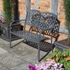 Rowlinson Vienna Aluminium 2-Seater Bench