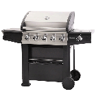 Lifestyle Dominica 5 Burner Gas Barbecue with Sideburner