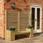 Rowlinson Garden Creations Bench Seat Set