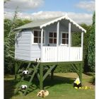 Shire Stork Playhouse with Platform (not supplied painted)