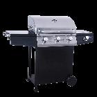 Lifestyle St Vincent 3 Burner Gas Barbecue with Sideburner