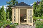 Inverness 44 Log Cabin Summerhouse 44mm 2.7m x 2.4m