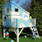 Shire Command Post Playhouse (shown painted)