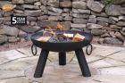 Gardeco Dakota Steel Firepit 100cm