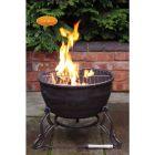 Gardeco Elidir 45cm Round Cast Iron BBQ Grill Fire Bowl