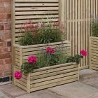 Rowlinson Tier Planter (back screen not included)