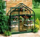 Supreme Wall Garden Lean-To 6x2 Forest Green