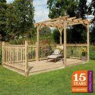 Forest Ultima Pergola Deck Kit 2.4 x 4.8m