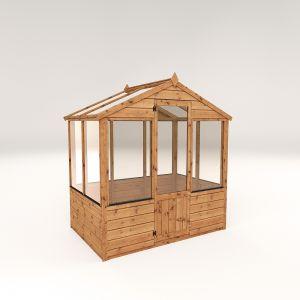 Mercia Evesham Traditional Greenhouse 4x6
