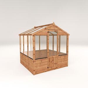 Mercia Evesham Traditional Greenhouse 6x6