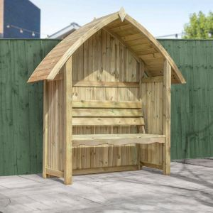 Mercia Arch Top Arbour Seat