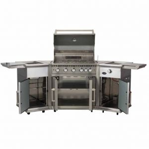 Lifestyle Bahama Island Stainless Steel Gas Barbecue