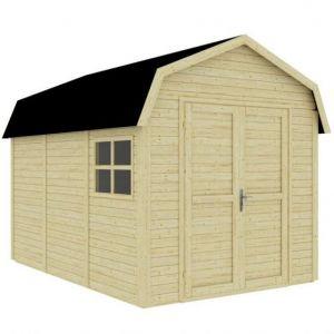 Rowlinson Dutch Barn Unpainted Natural 11x8