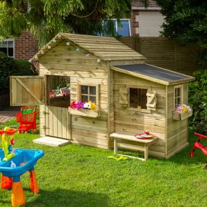 Rowlinson Clubhouse Hideaway Playhouse 7x5