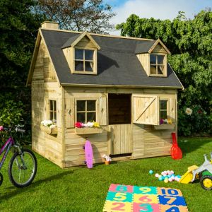 Rowlinson Country Cottage Double Storey Playhouse 8x6
