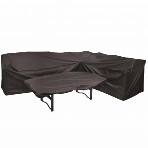Royalcraft Heavy Duty L Shaped Polyester Cover and Rectangular Table Top Cover