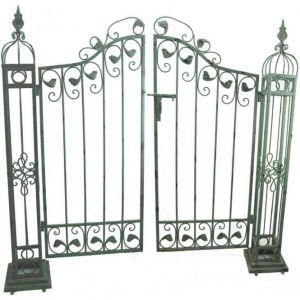 Ornamental Gates Antique Verdigris