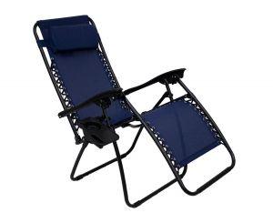 Royalcraft Blue Zero Gravity Relaxer Chair