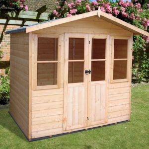Shire Avance Summerhouse 7x5 - customer photo - thank you Mr and Mrs Hobbs - love it!