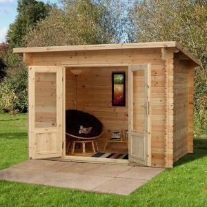 Forest Harwood Log Cabin 3m x 2m