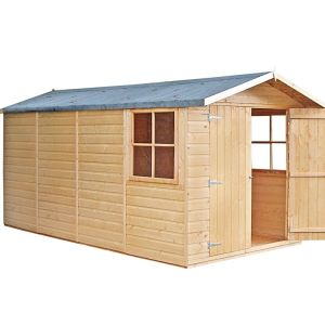 Shire Jersey Wooden Apex Shed 13x7