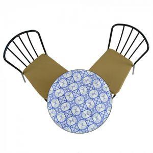 Nassau 60cm Bistro Set with 2 Milan Chairs
