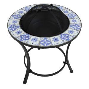 Nassau Low Firepit Table