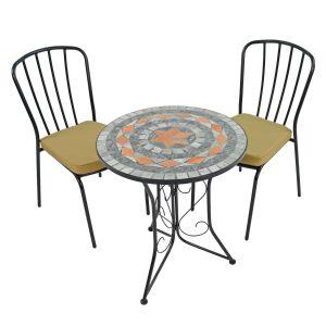 Nova Bistro Table with 2 San Remo Chairs