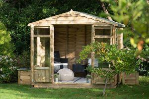 Forest Oakley Overlap Summerhouse 8x6